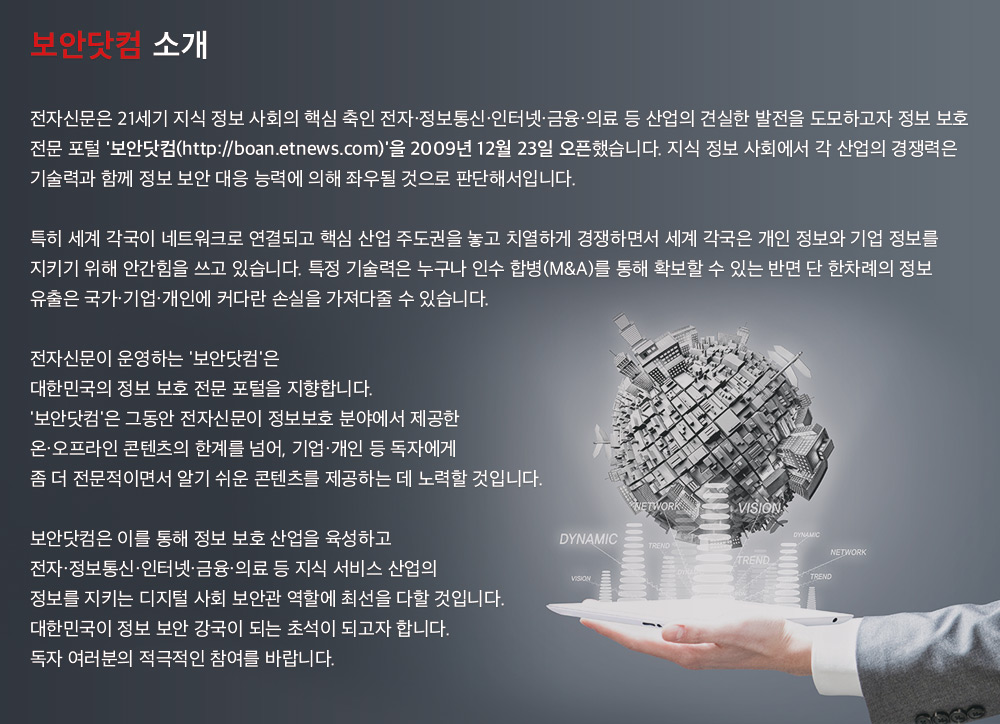 보안닷컴 회사소개