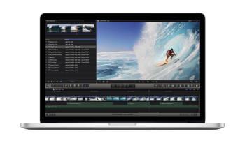 맥북 프로 레티나는 전문방송장비 수준 동영상 편집을 지원한다.