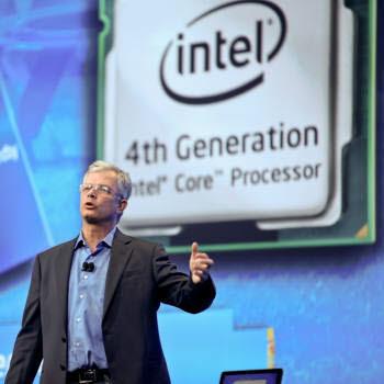 4세대 인텔 코어 프로세서를 설명하는 데이비드 펄뮤터, 인텔 최고 제품 책임자(CPO)