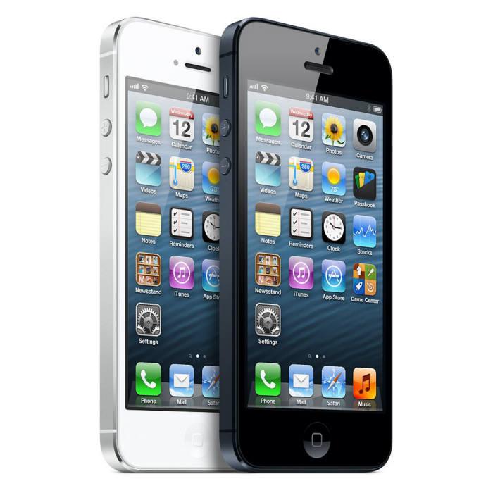 애플이 지난해 출시한 아이폰5