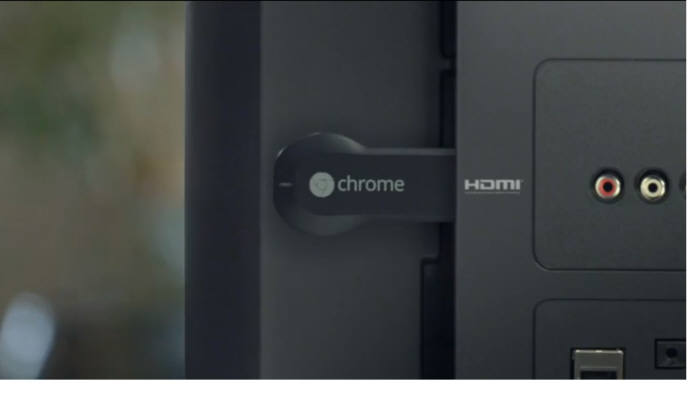 구형 TV를 인터넷TV로 바꿔주는 구글 `크롬캐스트`.