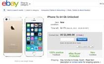 아이폰5S 골드 가격 어디까지 치솟을까?