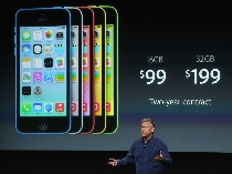 """""""아이폰5C 판매 실망""""…생산량 절반 줄여"""