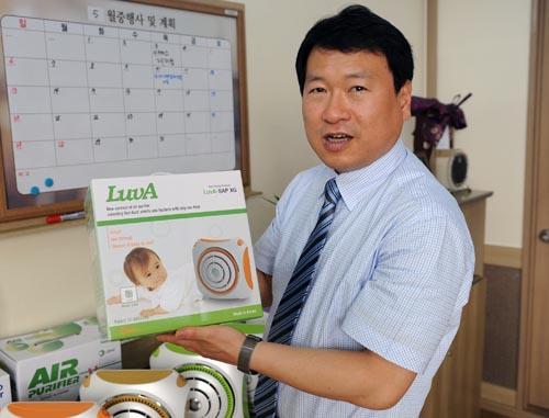 ▲ 김우경 대표는 '기본에 충실한 제품이 답이다'라고 강조한다.