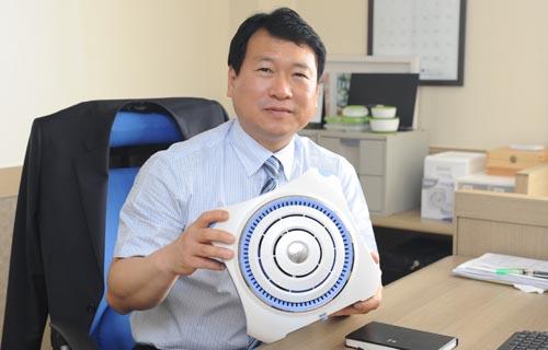 ▲ 김 대표는 올해 매출 15%를 국내에서 올릴 계획이다.