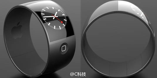 Apple iPad Watch concept image (Designed by Danish designer Esben Oxholm)