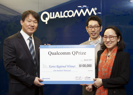 Easy Works Wins Qualcomm Ventures' USD 100,000 QPrize for Korea