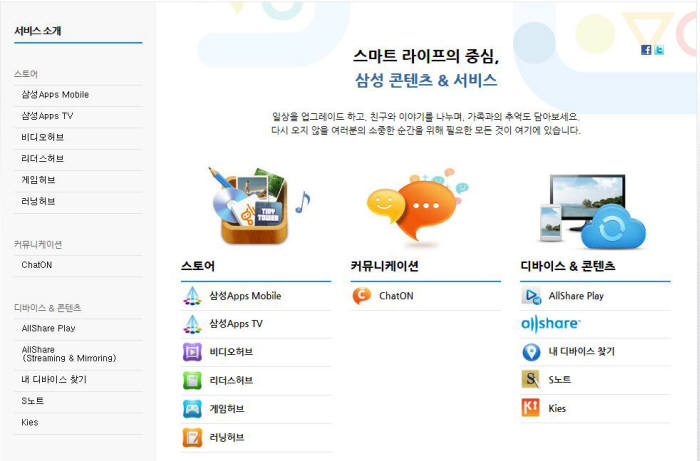 Samsung to Start Contents & Service Portal