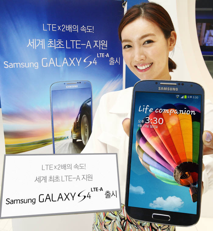 Samsung Electronics is the Biggest Beneficiary of LTE-A