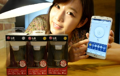 LG Electronics launched smart electric bulbs, will fight a battle with Philips