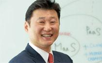 세계 SW시장에 출사표 던진 김태원 가온소프트 대표