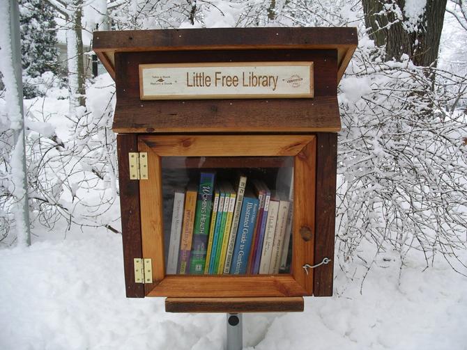 출처 : http://www.littlefreelibrary.org