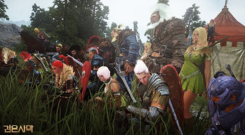 뜨거운 관심···MMORPG '검은사막' 파이널 테스트