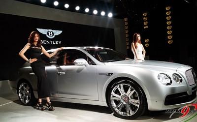 성능과 럭셔리의 조화, 벤틀리 플라잉스퍼 V8 출시