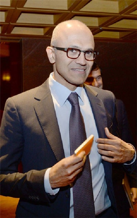 MS CEO, Nadella, says MS will cooperate with LG Electronics and other companies regarding Internet of Things… Establishment of Data Center in Korea will be accelerated