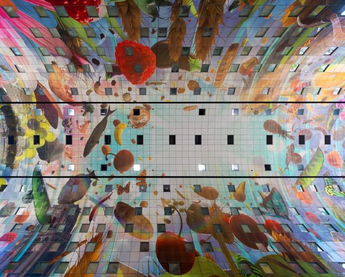 최첨단 건축 디자인과 만난 '네덜란드 전통시장' - 전자신문