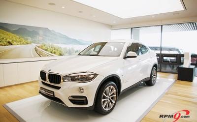 BMW, 뉴 X6 출시... '디자인, 실용, 성능' 삼박자 갖춰