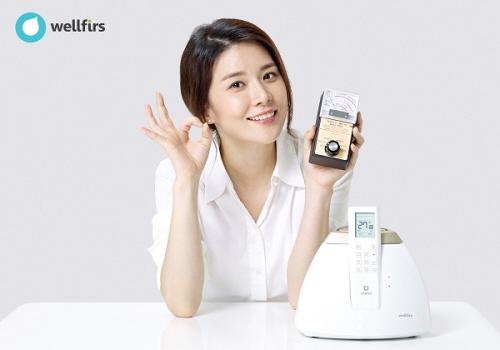 ▲ 배우 이보영이 광고모델인 삼진 웰퍼스