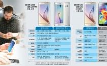 [이슈분석]갤럭시S6, 아이폰6와 그립감이 달랐다