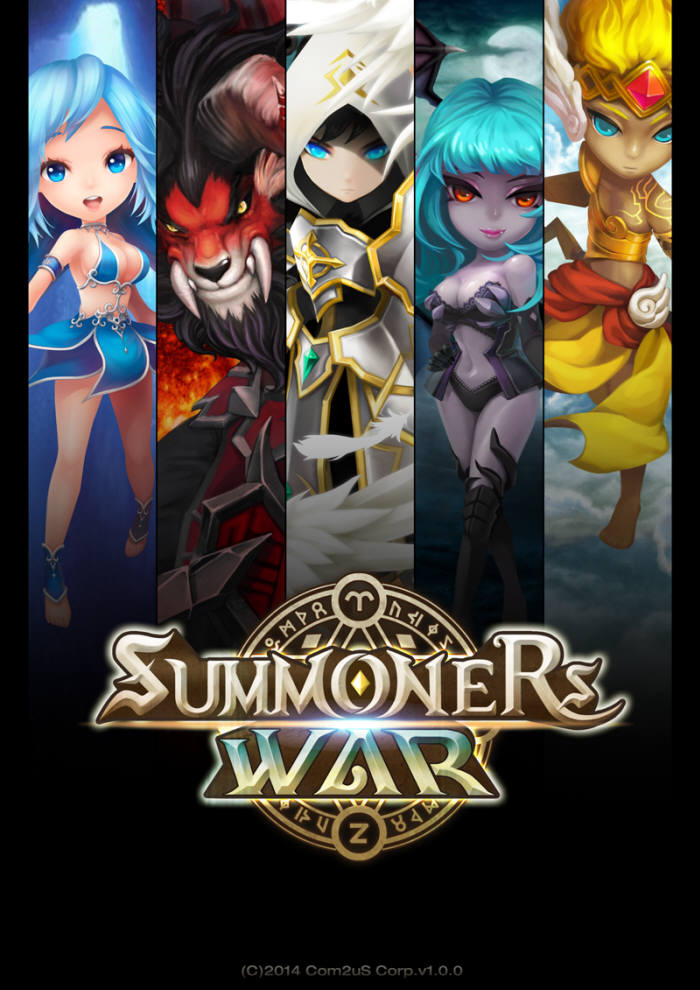 'Summoners War,' which made a big hit in the global market last year and raised business profits of Com2uS.