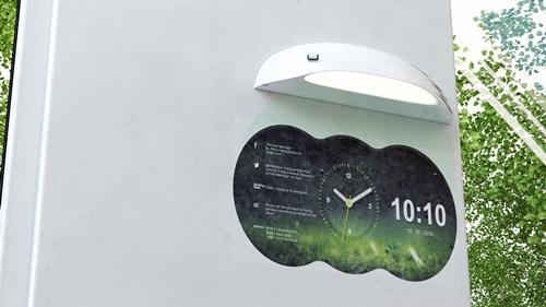 [별별신제품] 벽걸이 시계의 진화…쿨리스트 클락