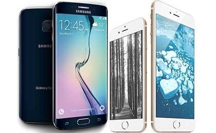 갤S6 vs 아이폰6, 배터리 성능 비교해보니…