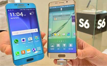 아이폰6, 갤럭시S6 출시후 판매량 소폭 감소