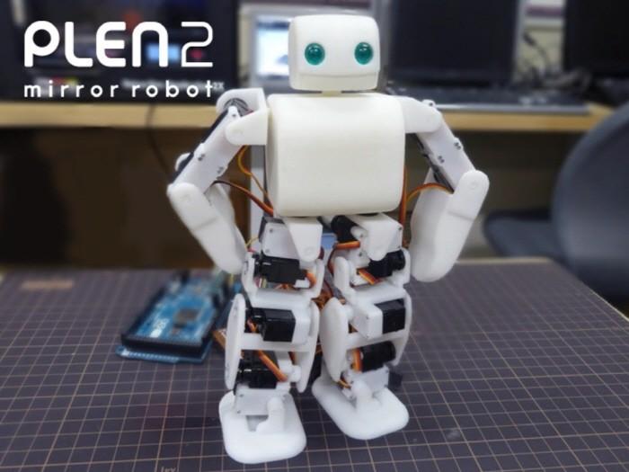 3D프린터로 만든 초소형 오픈소스 로봇