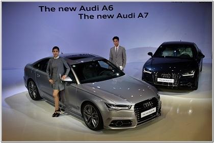 아우디, 새로운 변신 '뉴 A6·A7·S6·S7·RS7' 출시