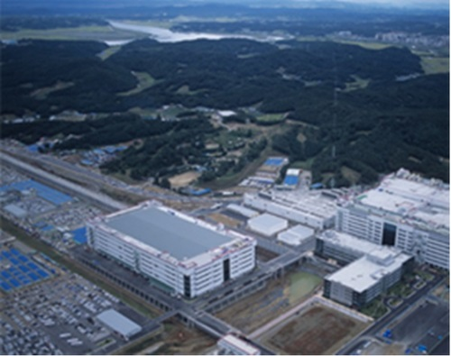 Panoramic view of LG Display factories in Paju = etnewsDB