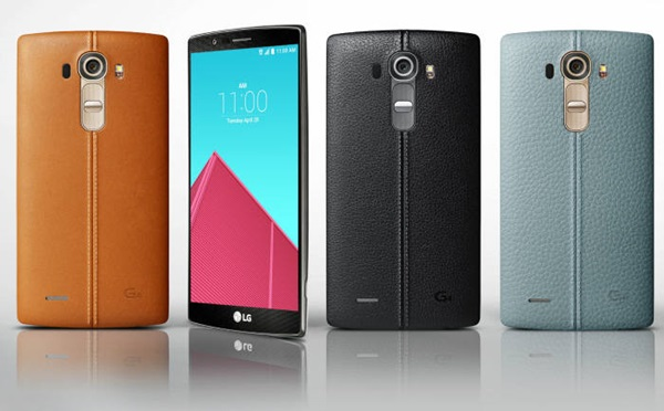 Leather material case was chosen on the back of LG Electronics' G4.  It is currently reviewing a plan to apply metal case on its next models.