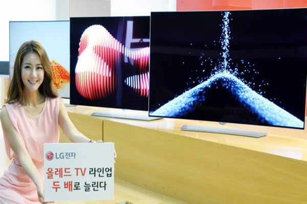 LG Electronics increased number of OLED TV product line by twice.  Photo=GElectronics