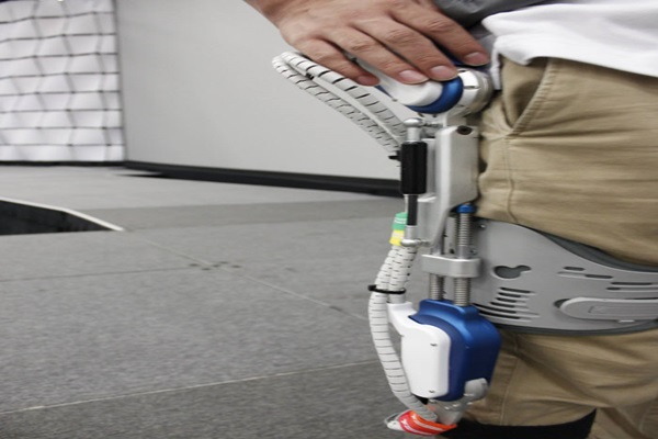 Hyundai's wearable robot H-LEX's knee part