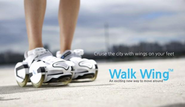 [별별신제품] 신발에 날개를 달아줘요 '워크윙'