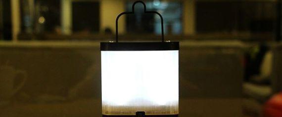 [별별신제품] 가난한 이들을 위한 소금물 램프