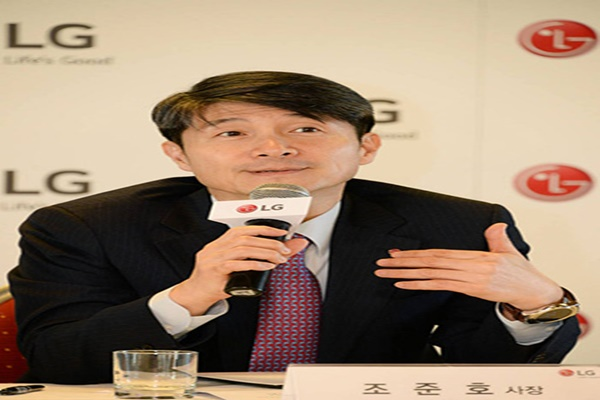 Director (President) Cho Joon Ho of LG Electronics' MC Business Head Quarter. Photo=EtnewsDB