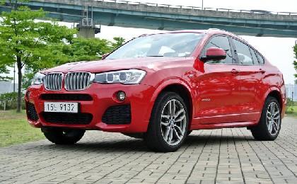 BMW X4 30d, '가속·변속·제동' 완벽한 삼박자 하모니