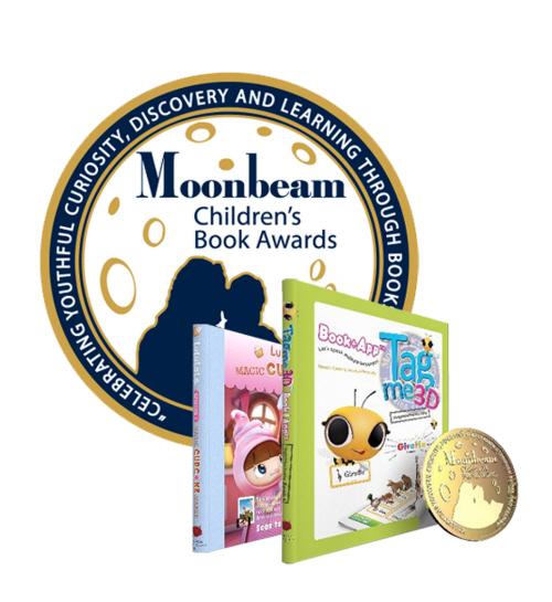 증강현실기업 빅토리아프로덕션, 미국독립출판협회 주최 아동책시상식 금상 수상