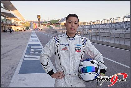 카레이서 최해민, '한국인 최초 인디카 도전'