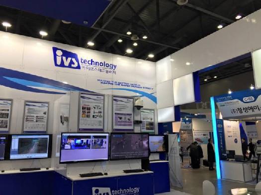 아이브스테크놀러지는 지능형CCTV를 소개했다.