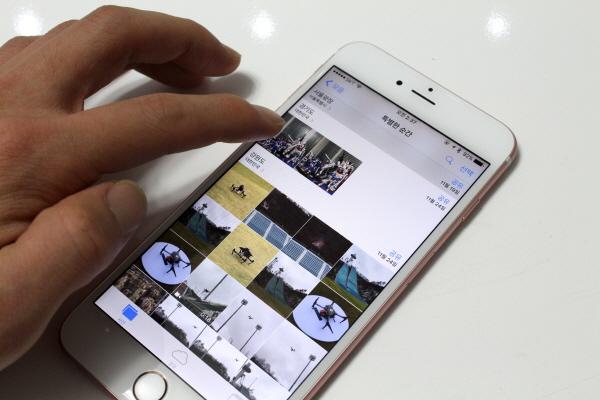 사진 앱은 픽앤팝을 사용하기 유용하다.