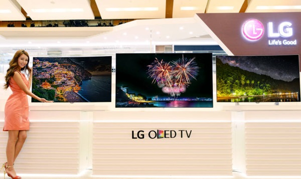 New brand of TVs with LG Display's OLED panels are lining up to be released.  As more and more OLED products are made, it seems that global OLED TV markets will rapidly expand in upcoming year. photo=ETNews