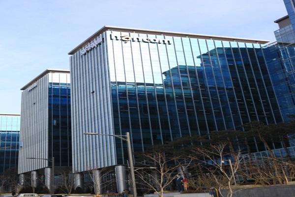 Panoramic view of Hancom's company building