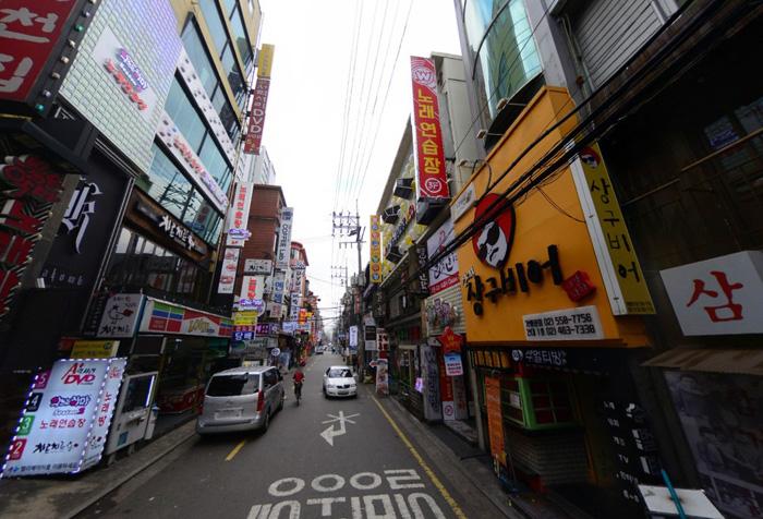 [건축가 윤창기의 서울여행]서울의 이면도로 문화, 한류가 될 수 있다
