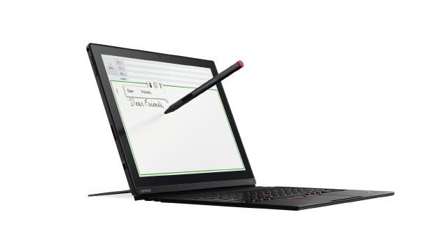 레노버, 모듈형 태블릿 '씽크패드 X1' 출시