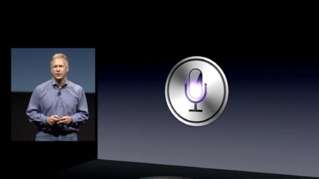 음성인식비서 '시리'는 2011년 아이폰4S를 통해 세상에 공개됐다.