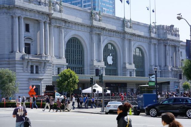 WWDC 2016이 열리는 미국 샌프란시스코 빌 그레이엄 시빅 오디토리움