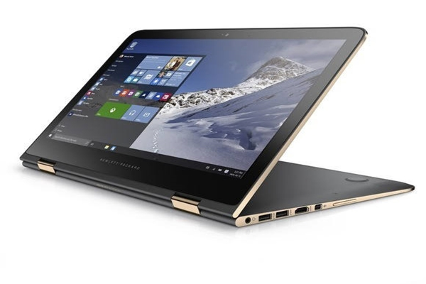 HP's OLED laptop called 'Spectre x360' that was recently released officially for experts (Picture = HP)