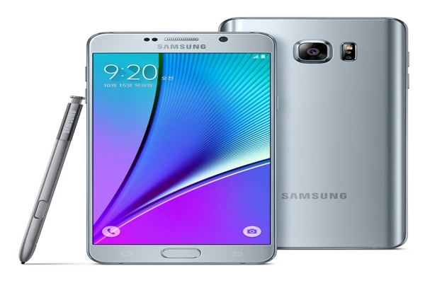 Samsung Electronics' new Galaxy Note is going to be released soon.  With the release date set in August, Samsung Electronics is planning to produce new Galaxy Notes in July.  It is heard that this new phone will have a new design as it will have a Dual-Edge Display.  Above picture shows Galaxy Note 5 that was released last year (Reference: Samsung Electronics)