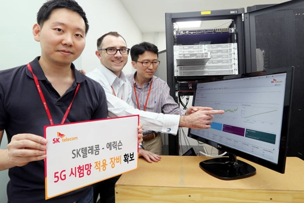 SK Telecom and Ericsson Secure Equipment for Demonstrative Network of 5G